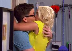 Gabi and Cooper kiss