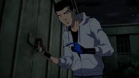 Jaime picks a lock