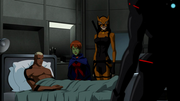 Black Manta checks up