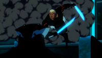 Kaldur faces Black Manta