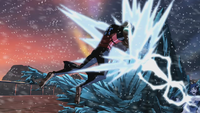 Aqualad versus Killer Frost