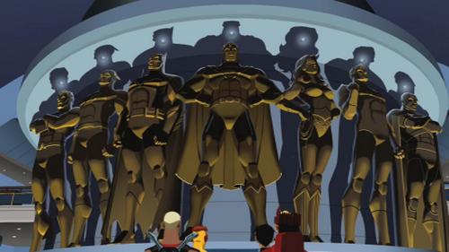 File:Justice League Bronze Statues.png