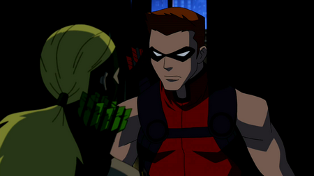 Image - Red Arrow warns Artemis.png   Young Justice Wiki ...