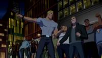 Sportsmaster incites a mob