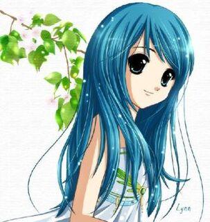 450389496 avatar cute blue hair girl by aleyshaa answer 1 xlarge