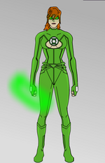 Green Lantern - Rylee Jones