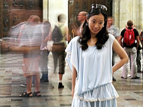 File:Beautiful Asian Woman in Dress.jpg