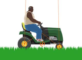 Editable Lawnmower