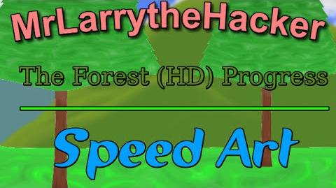 Happy Wheels Speed Art- Work on The Forest (HD) Ep