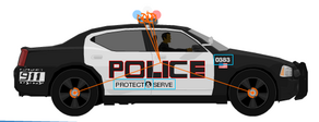 Dodge Charger Cop Car Level Editor