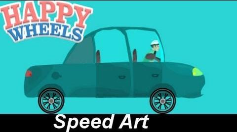 Happy Wheels Speed Drawings The Haunted Factory Car Reuploaded due to copyright EP