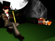 Gamechap and bertie under the night sky by roxasrox1042-d5nooqb
