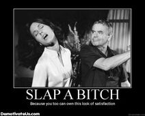 Slap bitch demotivational poster slap the bitch-s440x352-82424-580
