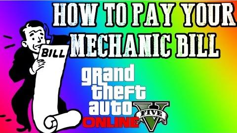 GTA 5 Online How TO PAY YOUR MECHANIC BILL! 1