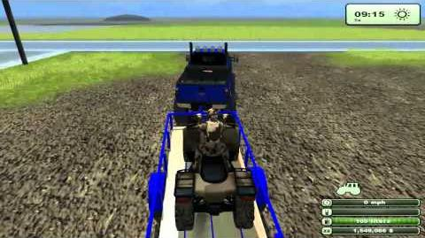 Farming Simulator Let's Play - EP 4 PT 1 Mudding and Hauling