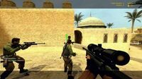Counter-Strike Source AWP Gameplay on Dust2