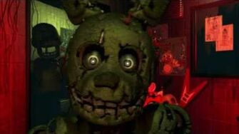 NEW ANIMATRONIC'S IDENTITY? (Five Nights at Freddy's 3 Trailer)