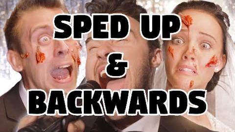 Bart Baker Maroon 5 Sugar Parody Sped Up & Backwards