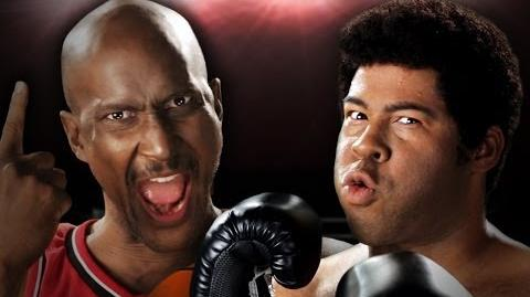Michael Jordan vs Muhammad Ali. Epic Rap Battles of History Season 3