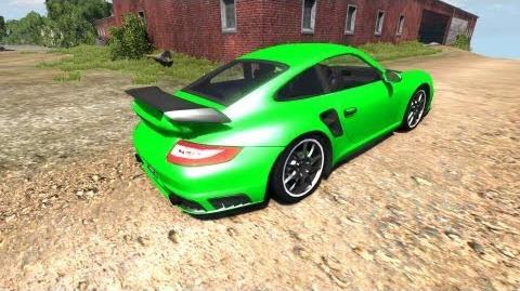 BeamNG Drive Alpha Porsche 911 GT2 v4
