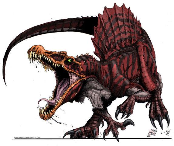 File:Raging Spinosaurus.jpg