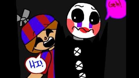 FNAF Comix Audition (FAILURE) - Marionette (for animationwolfyumi14)
