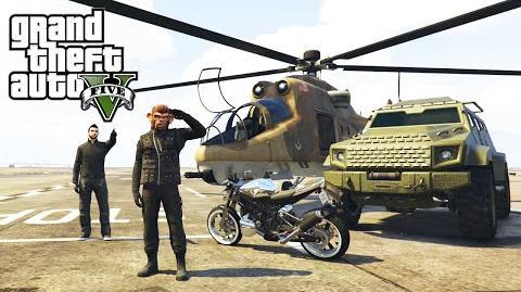 GTA 5 Online Heists - All Heist Vehicles Unlocked (Valkyrie, Savage and Hydra Jet)