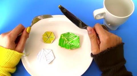 Hexaflexagons