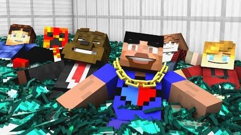 "Minecraft Song ♪ ""Victory Chant"" a Minecraft Song Parody (Minecraft Animation)"