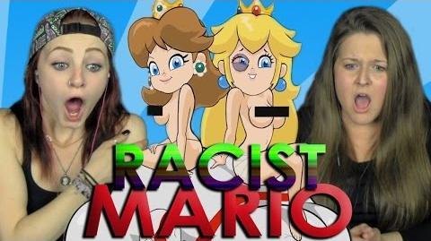 RACIST MARIO Girls REACT 4