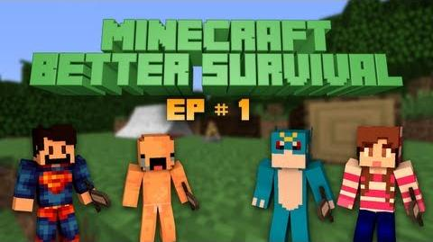 Minecraft Better Survival Multiplayer Ep 1 Super Ultra Hard mode!
