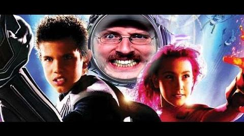 Nostalgia Critic Sharkboy and Lavagirl