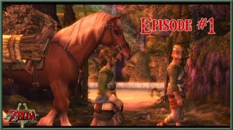 The Legend of Zelda Twilight Princess - A New Adventure Begins! - Episode 1