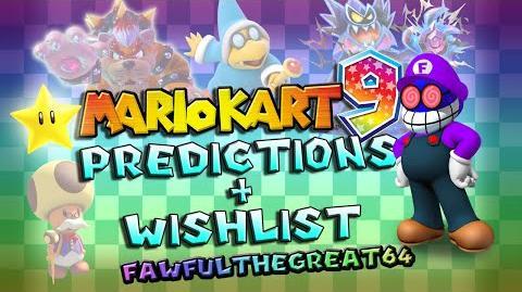 Mario Kart 9 Top 5 Character Predictions and Wants