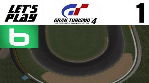 Let's Play Gran Turismo 4 - Part 1 - B License