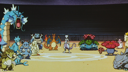 Mewtwo Clones