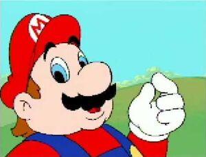 It's Super Mario!