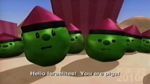 YouTube Poop - Veggie Tales 12 Stories In One Part 5