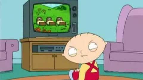Brian tries to interrupt Stewie's watching of My Little Pony Friendship is Magic