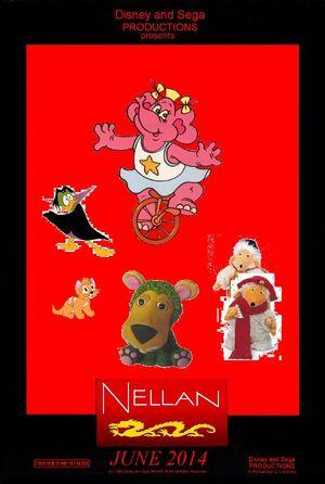 Disney and Sega's Nellan Poster