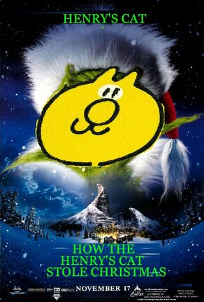 How the Henry's Cat Stole Christmas (2000) Poster