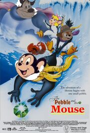 Disney and Sega's The Pebble and the Mouse Poster