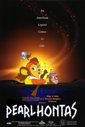 Disney and Sega's Pearlhontas Poster