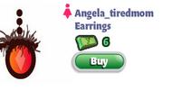 Angela tiredmom Earrings
