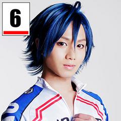 <center>Ueda Keisuke as Manami Sangaku.</center>
