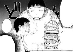 Eat up kiddo