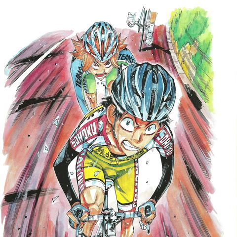 Sugimoto with Kaburagi.
