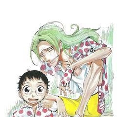 Makishima with Onoda.