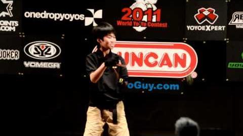 World Yoyo contest 2011 5A 1st - Takeshi Matsuura