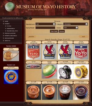 Musseum of yo-yo History